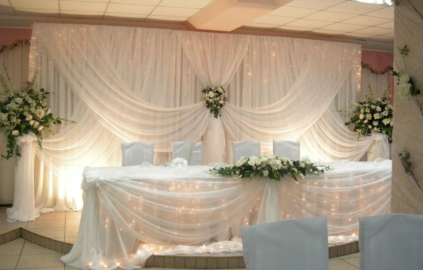 Украшение свадебного зала фото просто и красиво своими руками фото